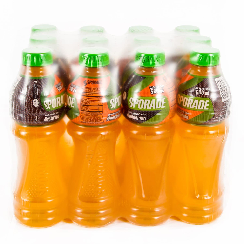 Bebida Hidratante Sporade Mandarina 500mlx12u