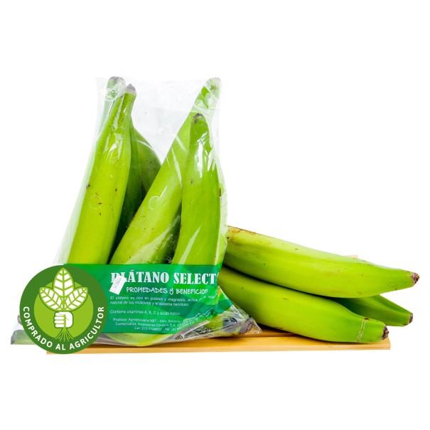 Platano Harton Verde 1kg