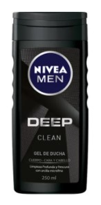 gel Ducha Nivea men Deep 250ml
