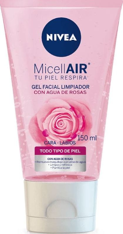gel Limpiador Nivea Agua de Rosas 150ml