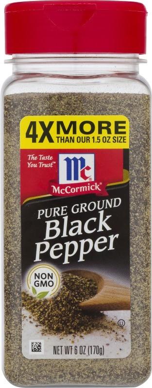 Pimien Mccormick Negra Molida 170g
