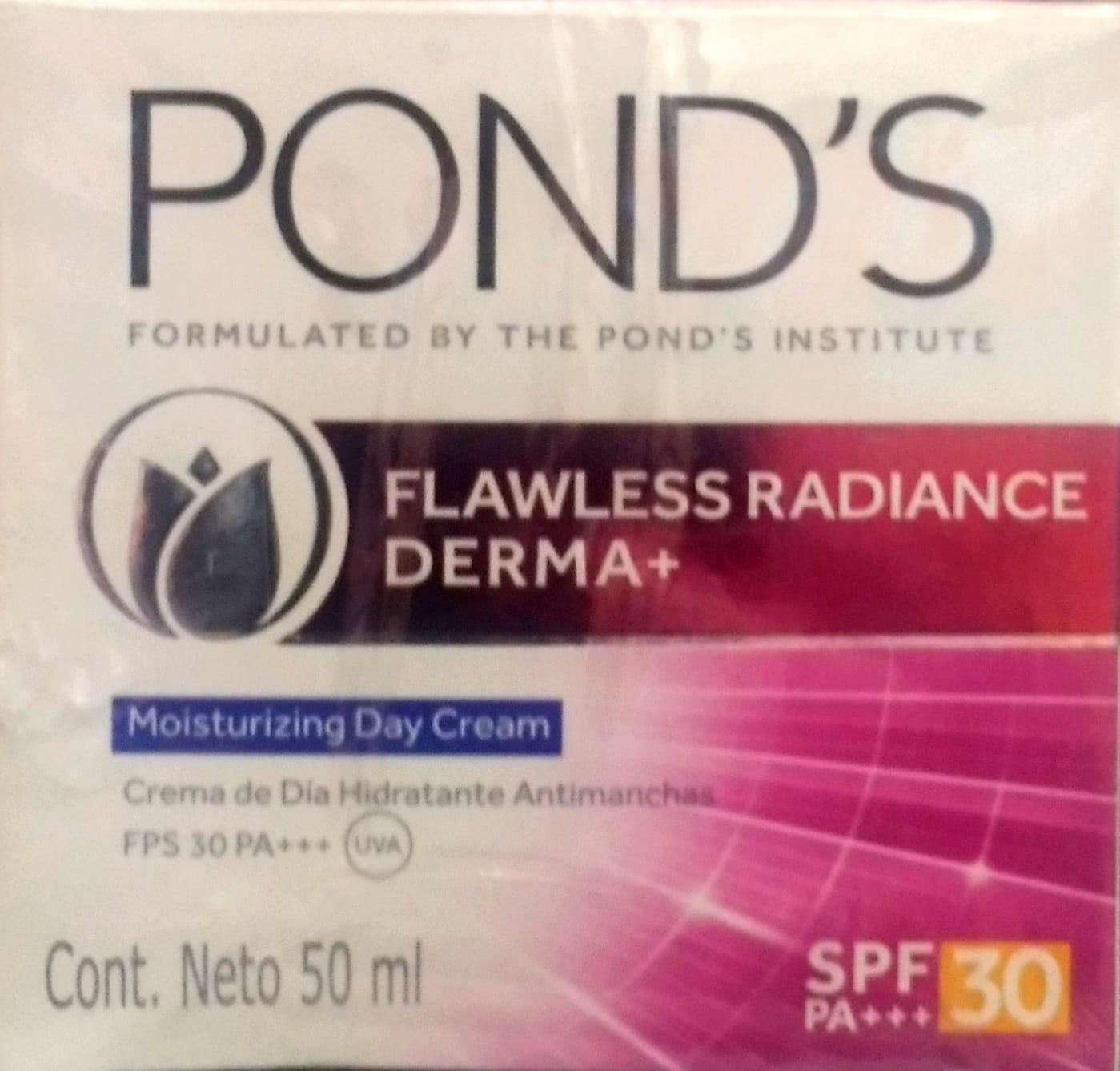 Crema Ponds Flawless Radiante Derma dia 50ml