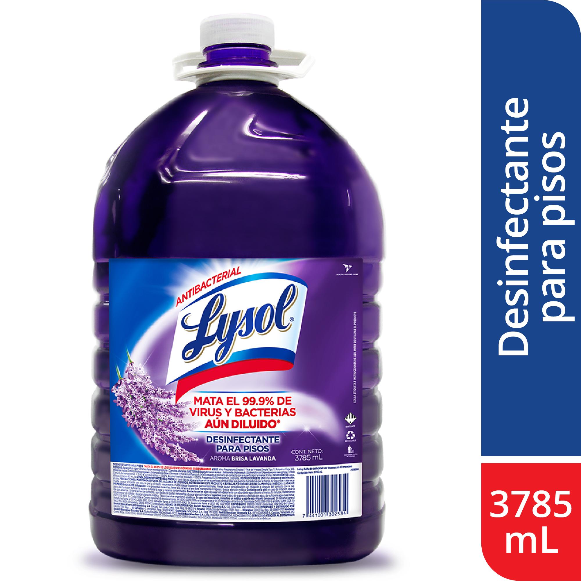 Desinfectante Para Pisos Lysol Lavanda 3785ml