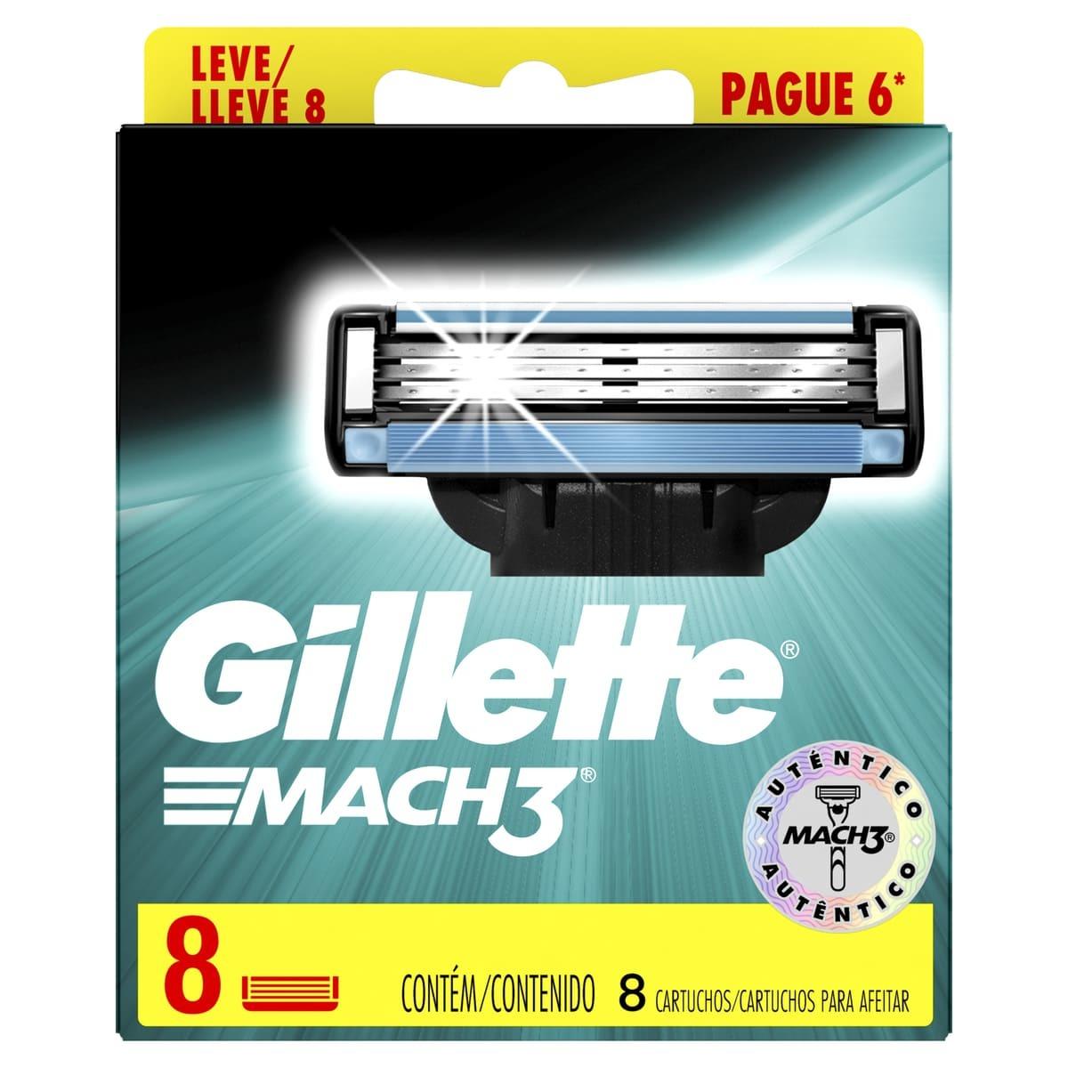 Repuesto Mach3 Gillette x 8und