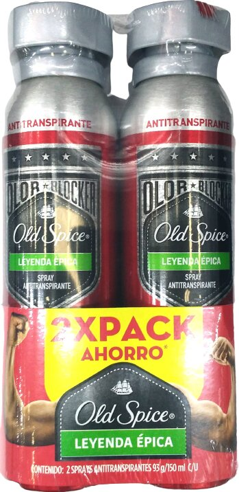 Desodorante Aerosol old Spice ley Epica 93gx2
