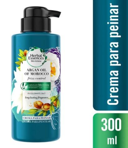 Crema Peinar Herbal Essences Argan oil of Morocco 300ml