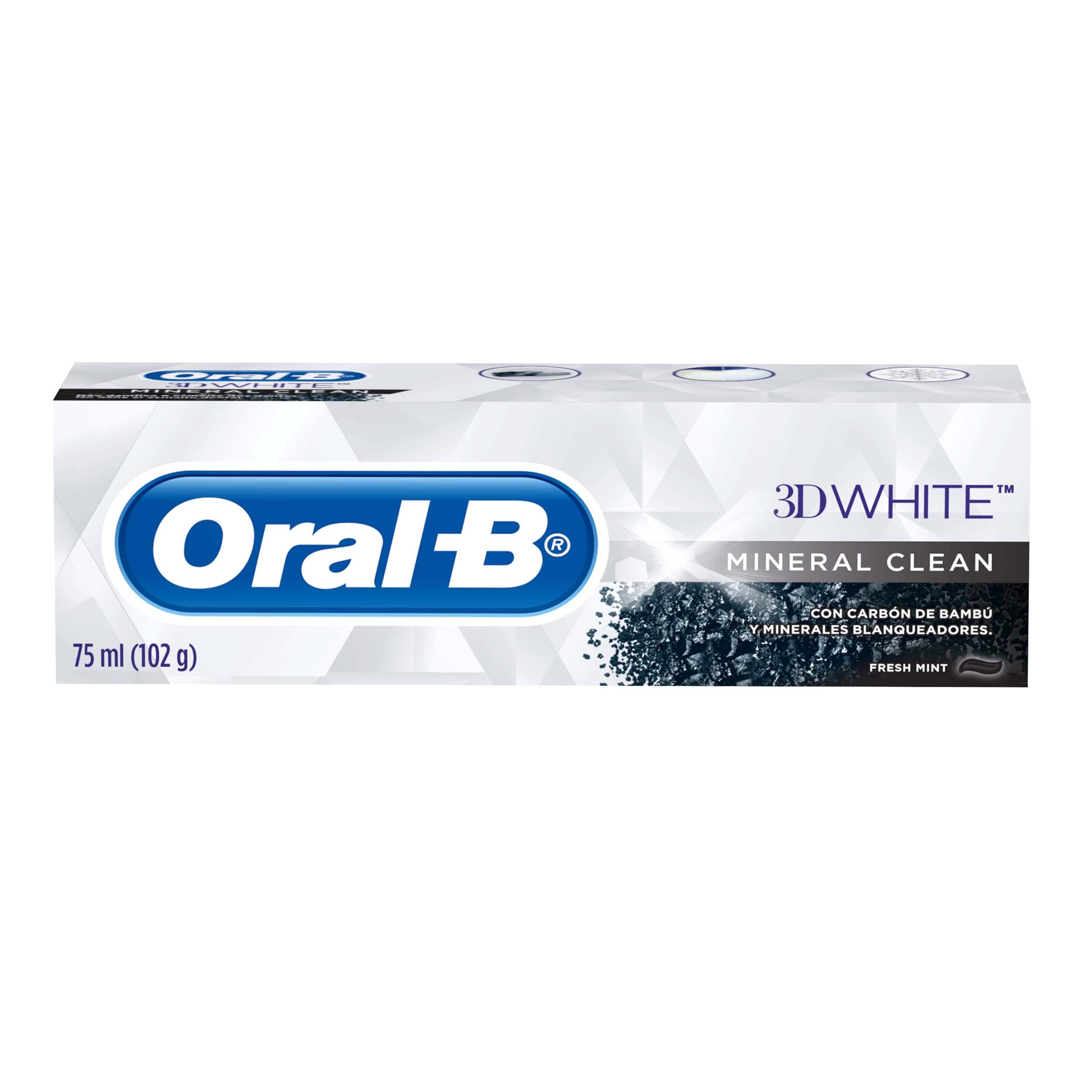 Crema Dental Oral b Mineral Clean 75ml