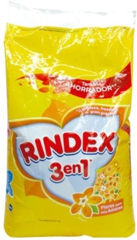 Detergente Polvo Rindex Flores 6k