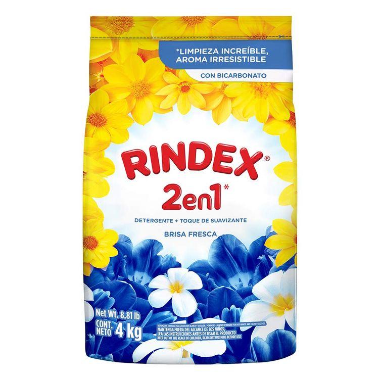 Detergente Polvo Rindex Brisa 4k