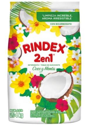 Detergente Polvo Rindex Coco 4k