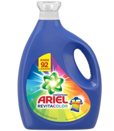 Detergente Liquido Ariel Revitacolor 3 7l