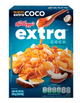 Cereal Extra Coco Almendras 310g