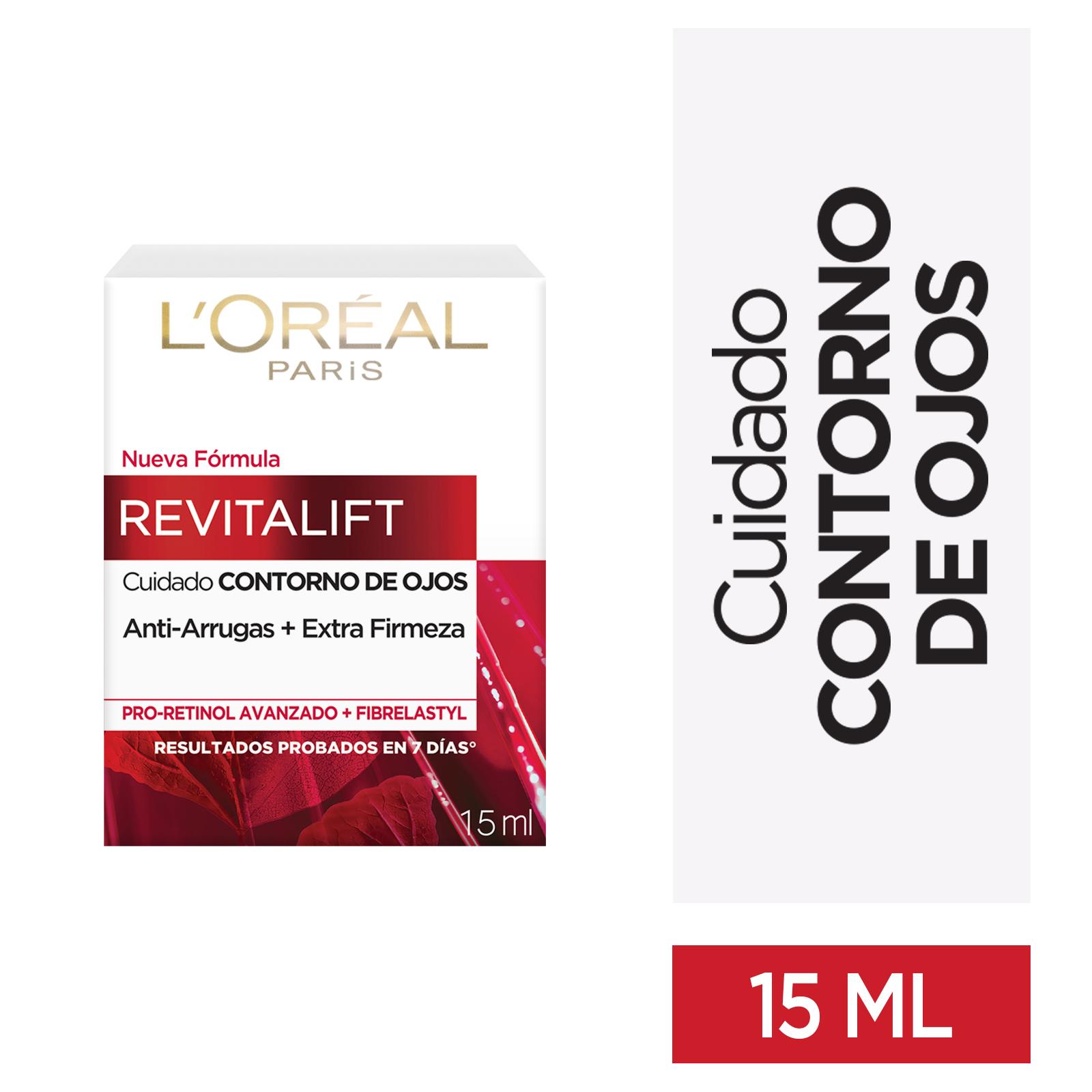 Crema Loreal Revitalift Contorno de Ojos 15ml