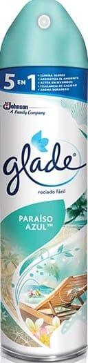 Ambientador Aerosol Glade Paraiso Azul 400ml