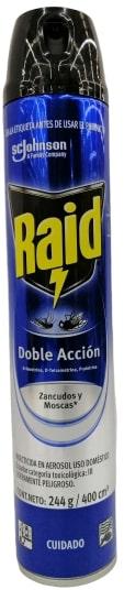 Raid Aerosol Doble Accion 400ml