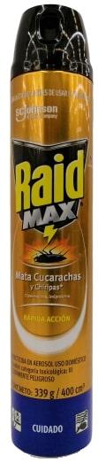 Raid Aerosol Cucaracha max 400ml