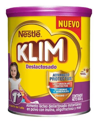 Alimento Lacteo Klim 1 Deslactosado X800g
