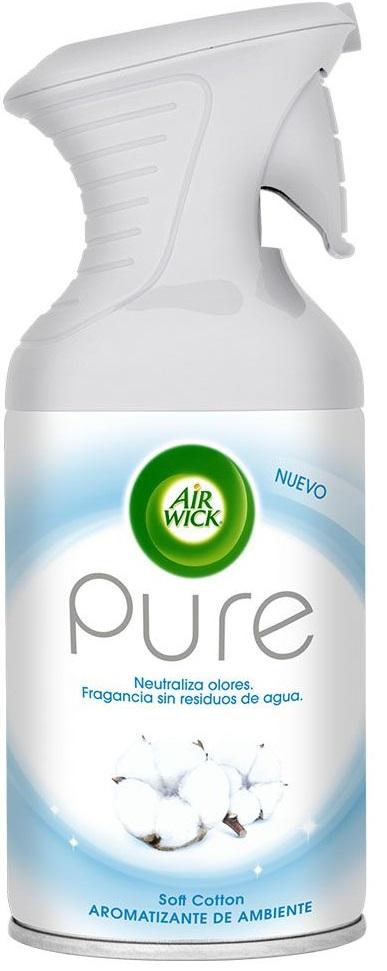 Ambientador Airwick Suave Algodón 250ml