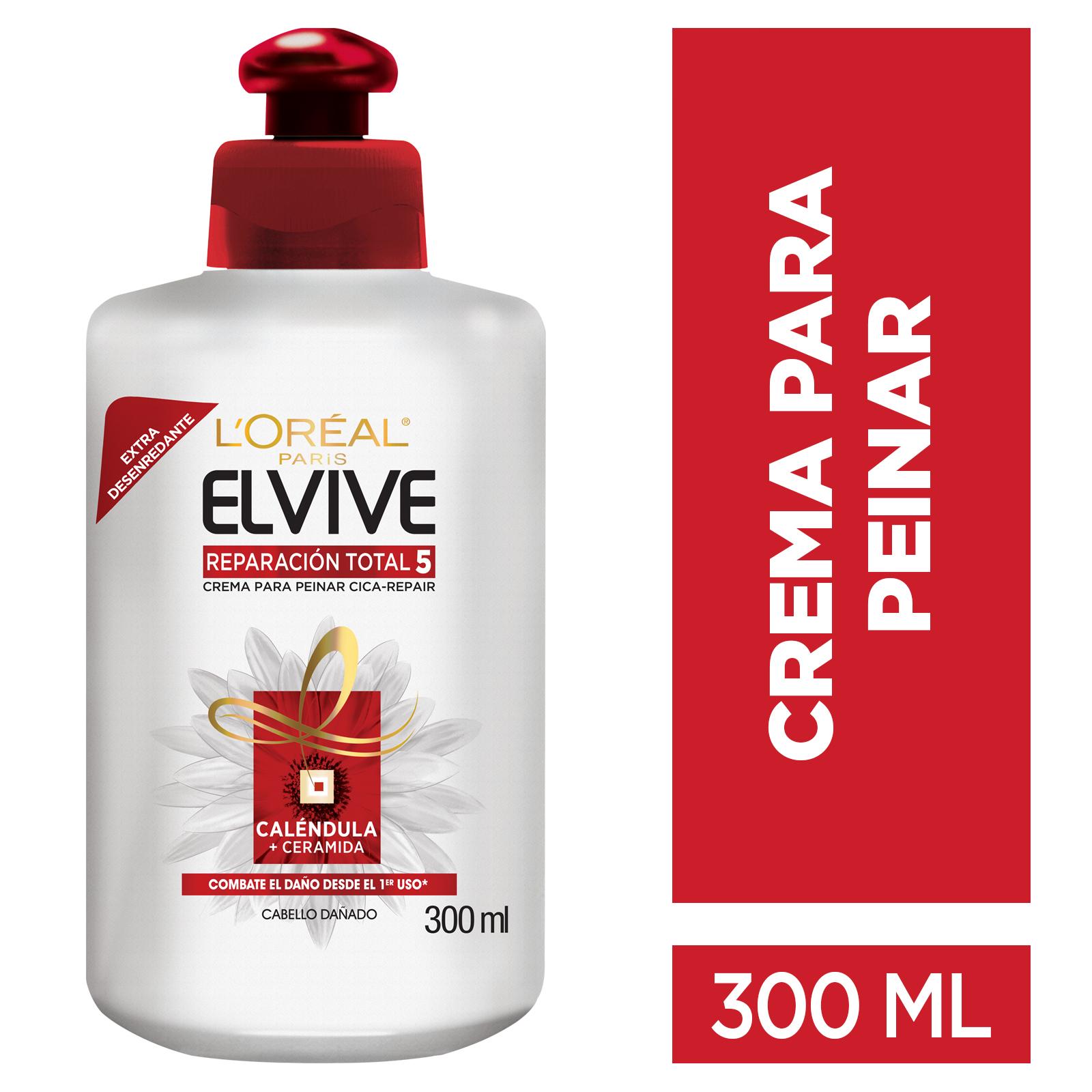 Crema Peinar Elvive Reparación Total 5 300ml
