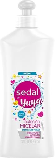Crema Peinar Sedal Yuya Nutrición Micelar 300ml