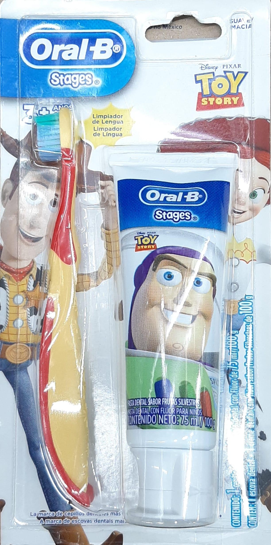 Cepillo Dental Oral b Stages Crema Dental 100g