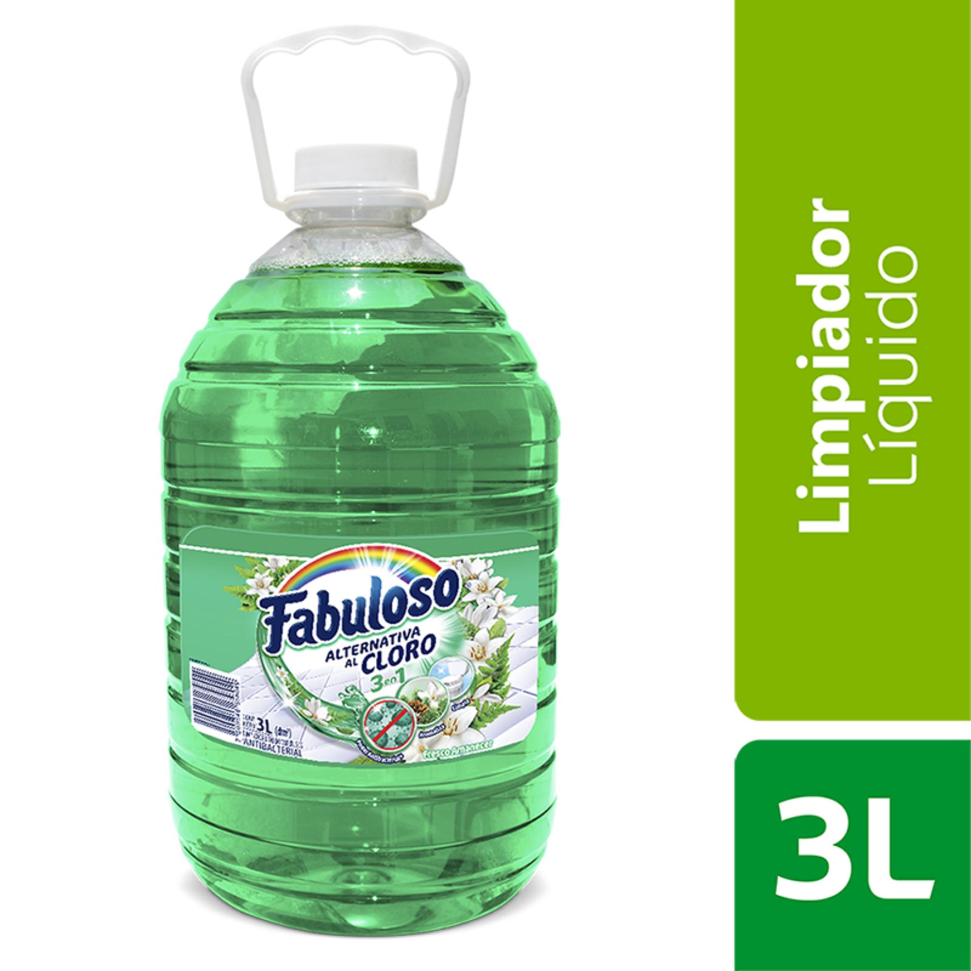 Limpiador Fabuloso Alternativa Cloro 3l