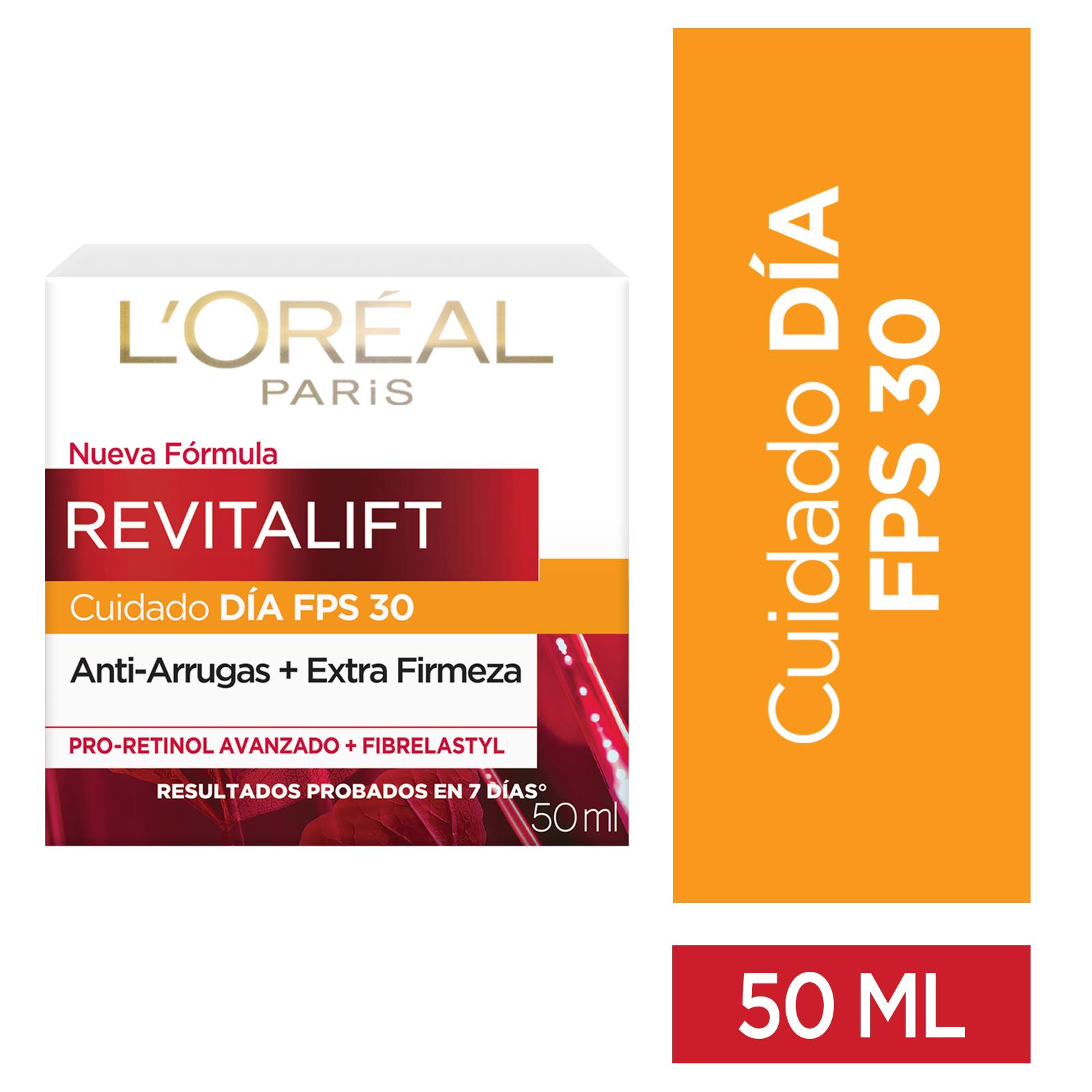Crema Loreal Revitalift Fps30 dia 50ml