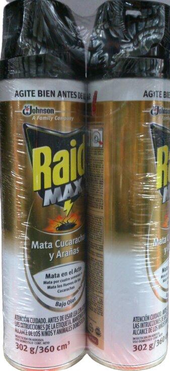 Raid Rastreros max 2 x 360g