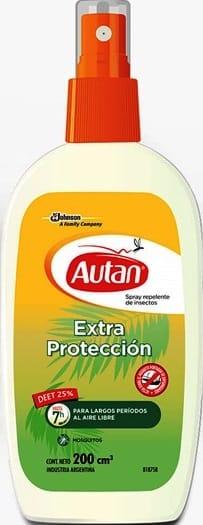 Repelente Autan Spray Extra Protección 200ml