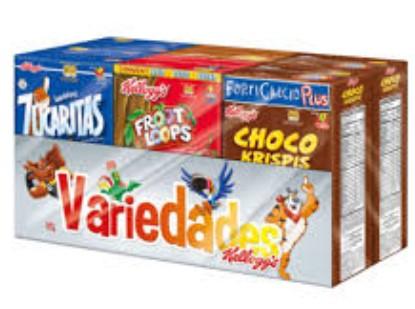 Cereal Variedad Kelloggs 172g