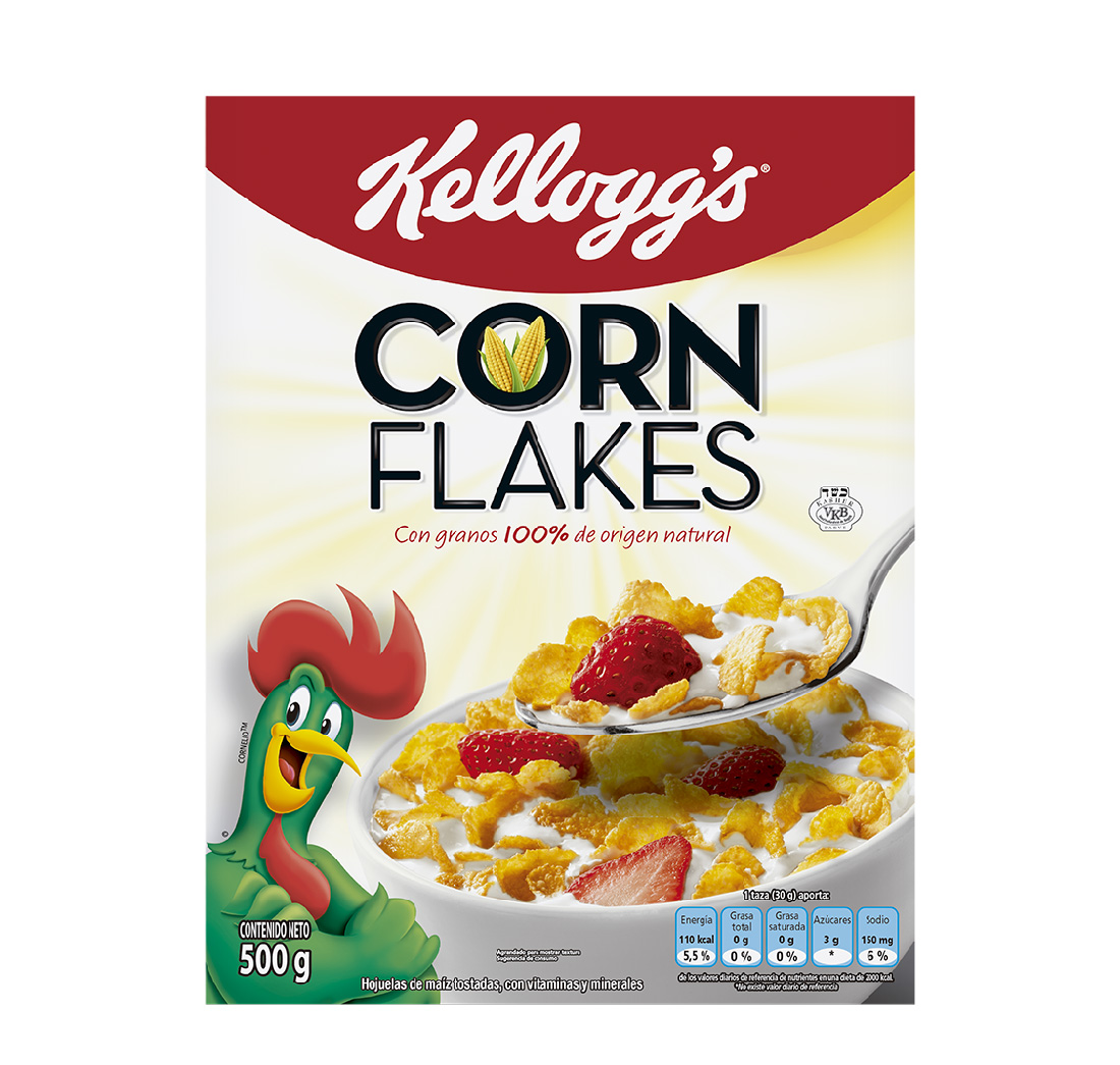 Cereal Corn Flakes Kelloggs 500g