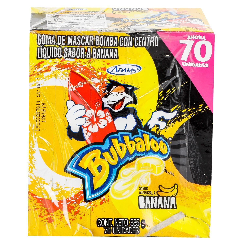 Chiclebubbaloo Banana x70 350g