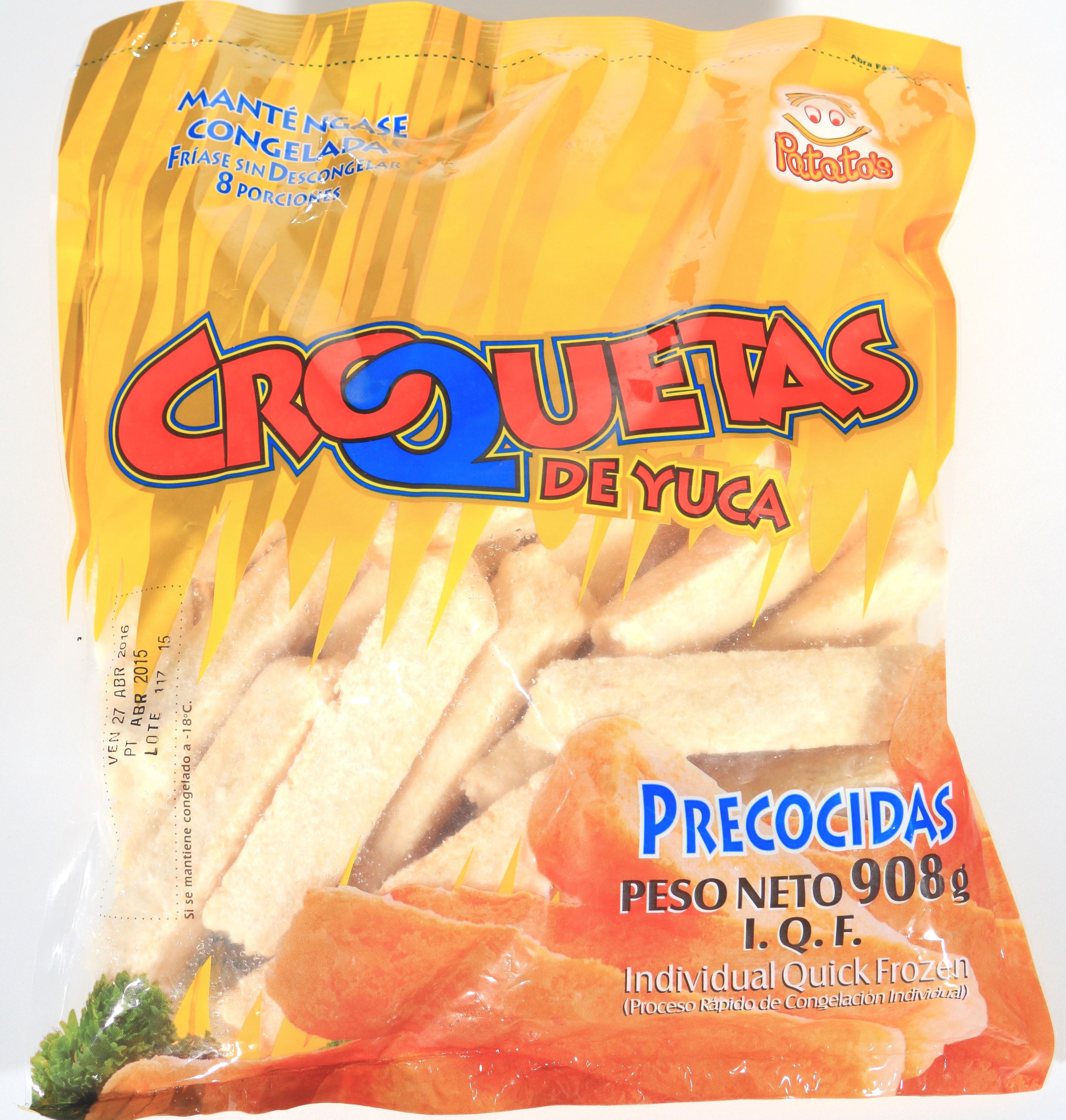 Croquetas Yuca Patatos 908g