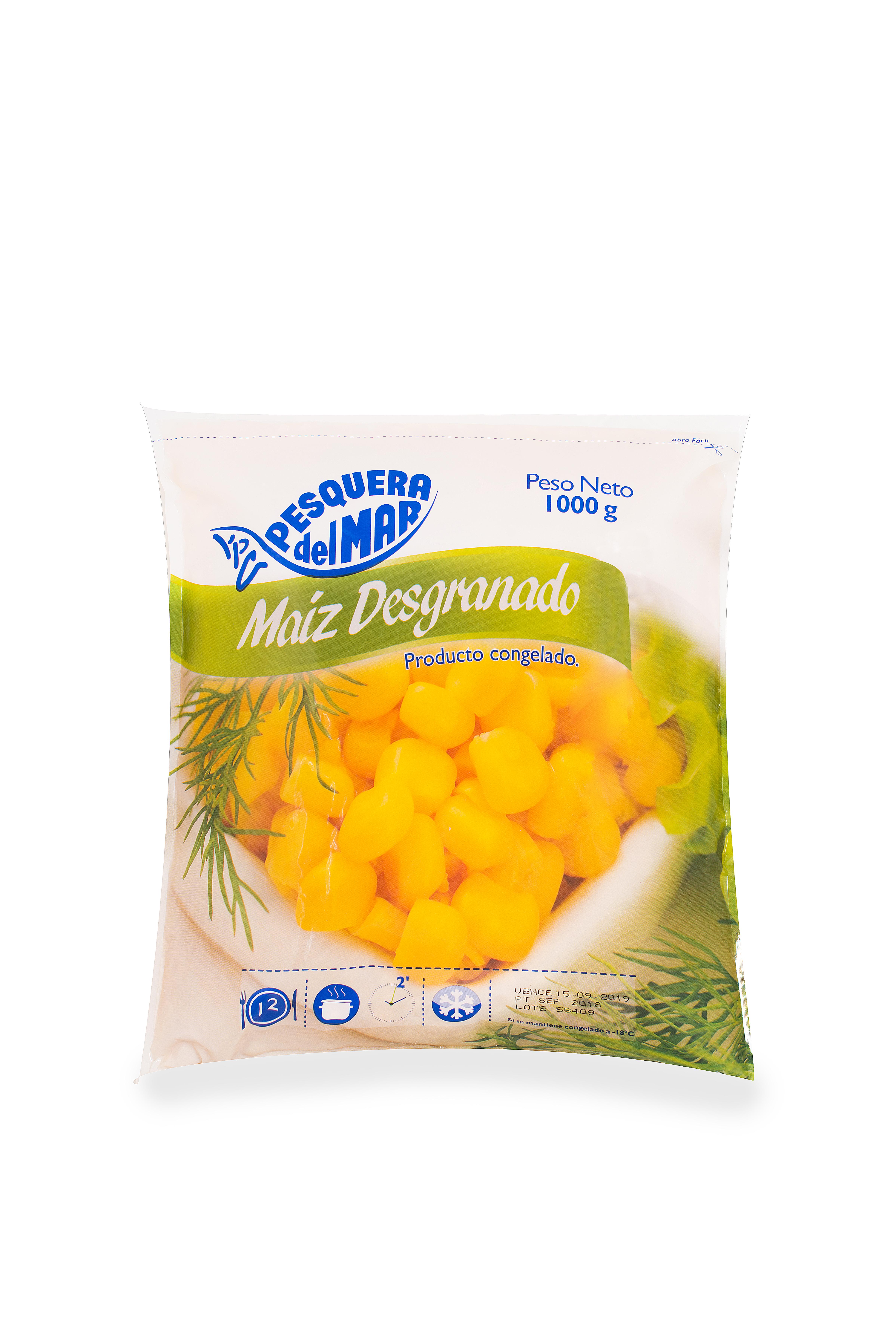 Maiz Pesquera Congelado 1000g