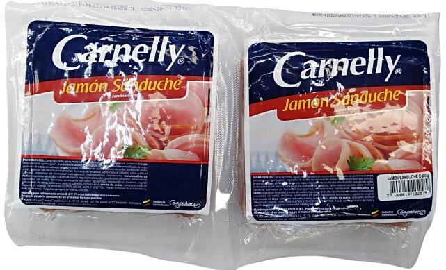Jamon Carnelly Sanduche 800g
