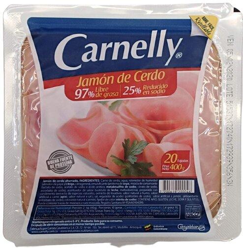 Jamon Carnelly 400g