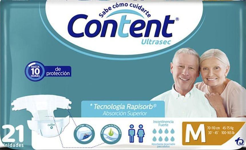 Pañal Incontinencia Content Ultrasec m x21