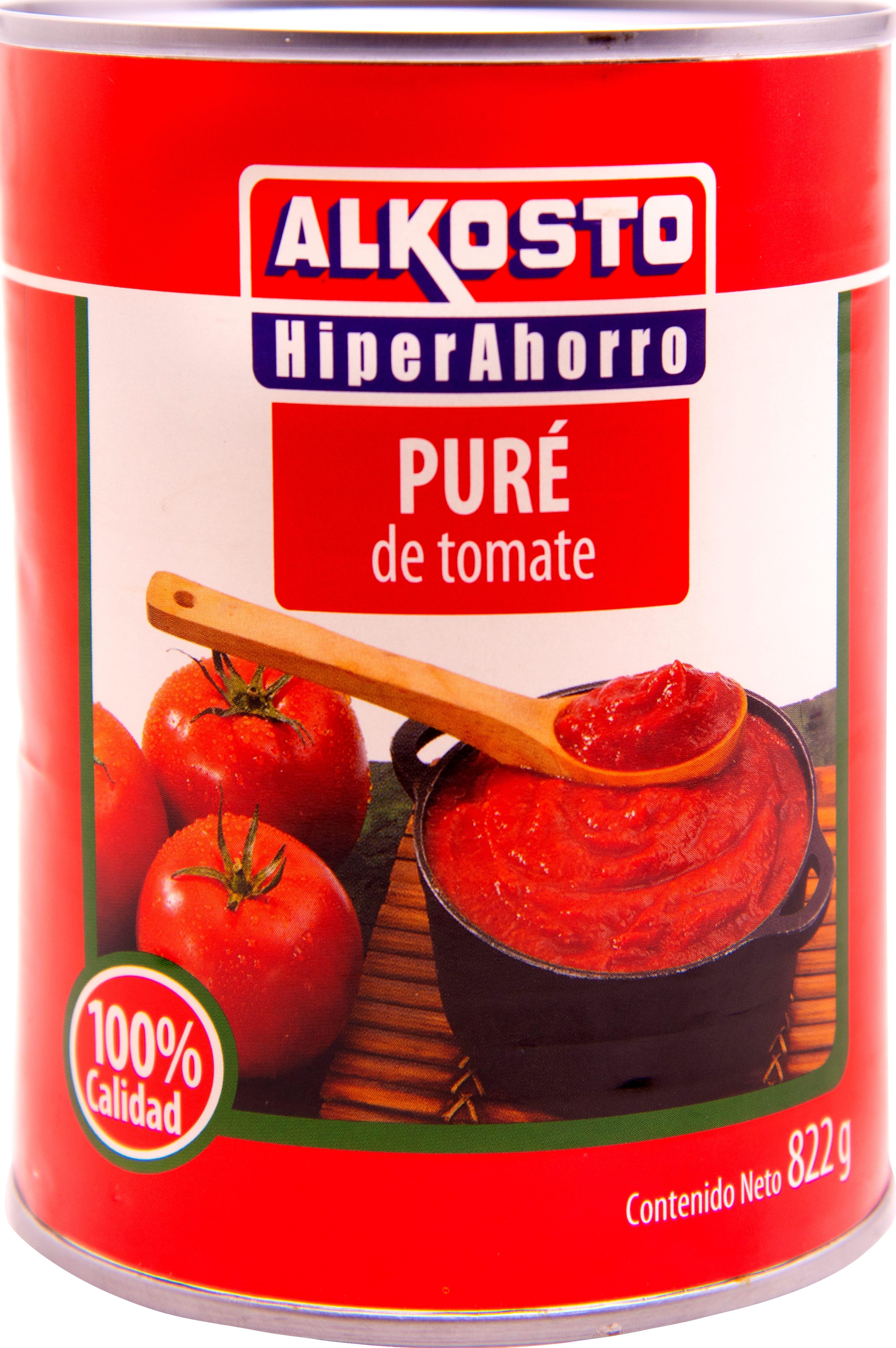Puré de Tomate Alkosto 822g