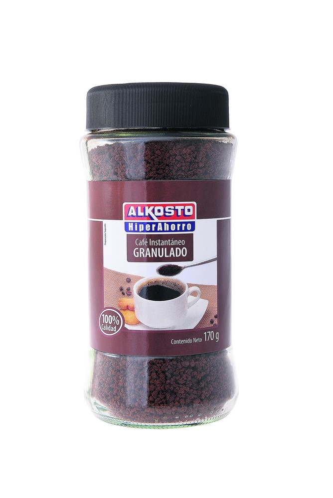 Cafe Instantáneo Alkosto Granulado 170g