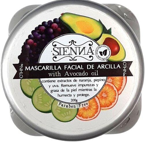 Mascarilla Arcilla Sienna 200g