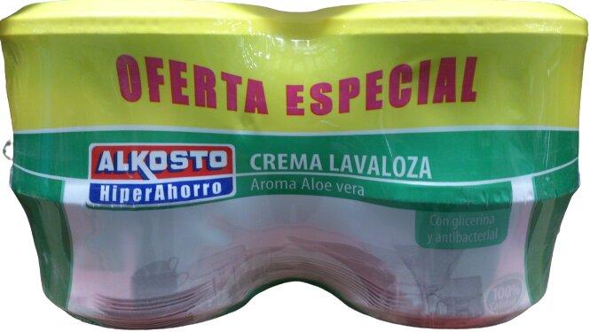 Lavaloza Crema Alkosto Aloe Vera 500g x 4