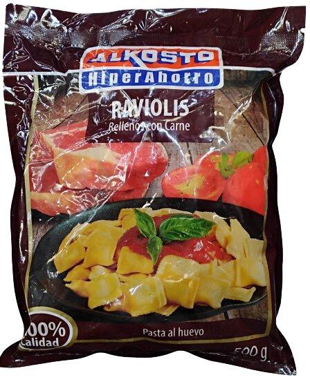 Raviolis Alkosto Carne 500g