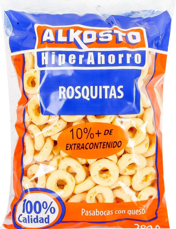 Rosquitas Alkosto 280g 10 Extra Contenido