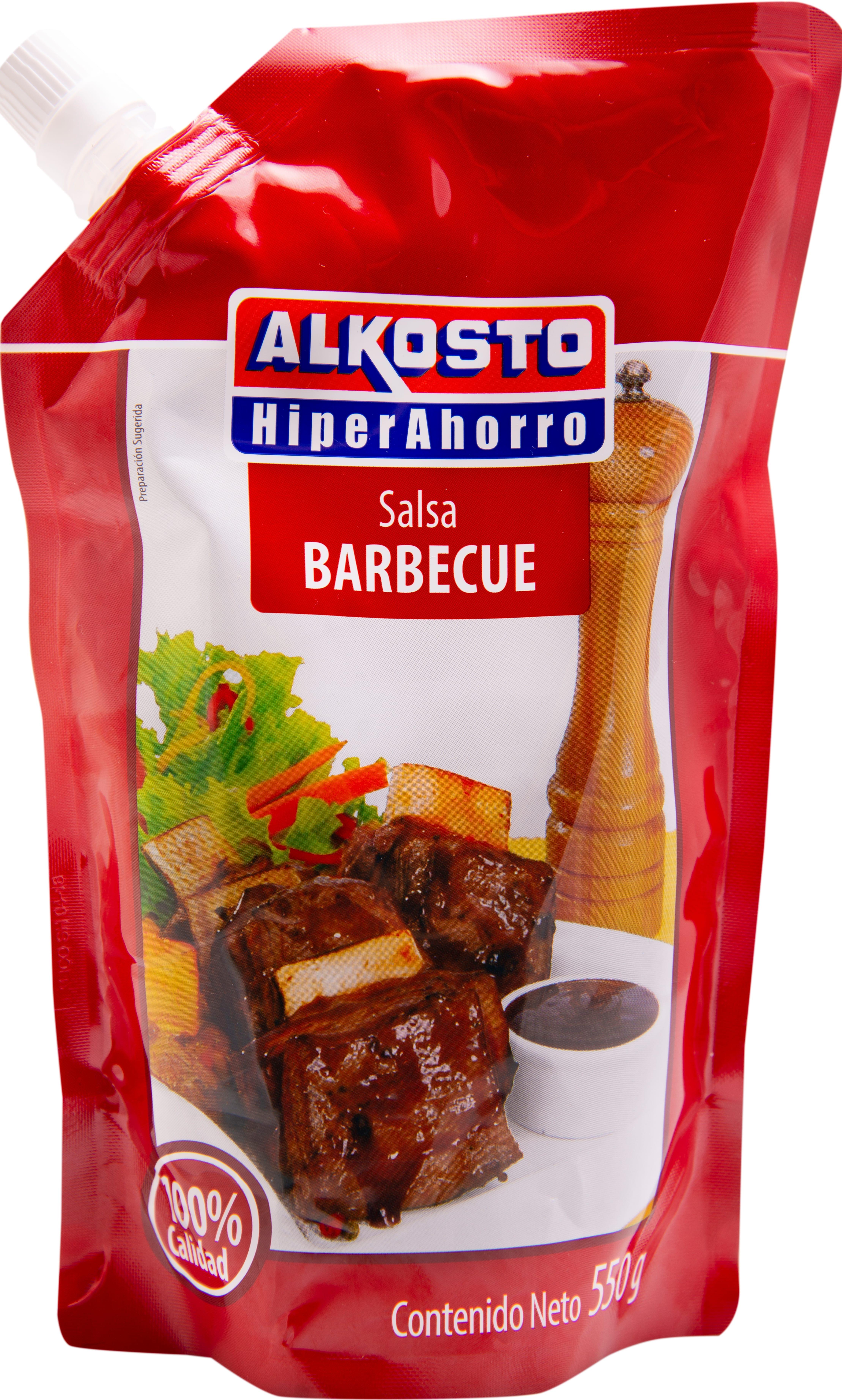 Salsa bbq Alkosto 550 g