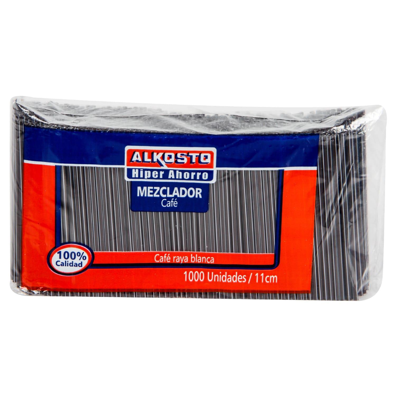 Mezclador Cafe 11cm Alkosto 1000u
