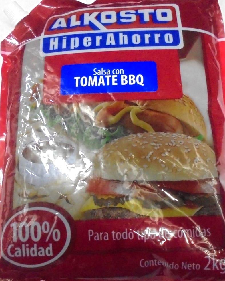 Salsa bbq Alkosto Bolsa 2 kg