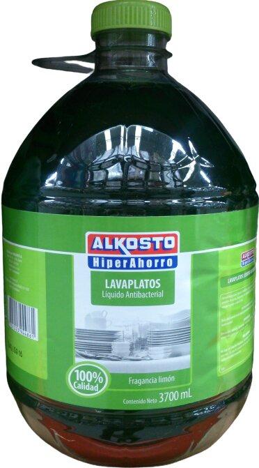 Lavaloza Liquido Antibacterial Limón Alkosto 3 7l