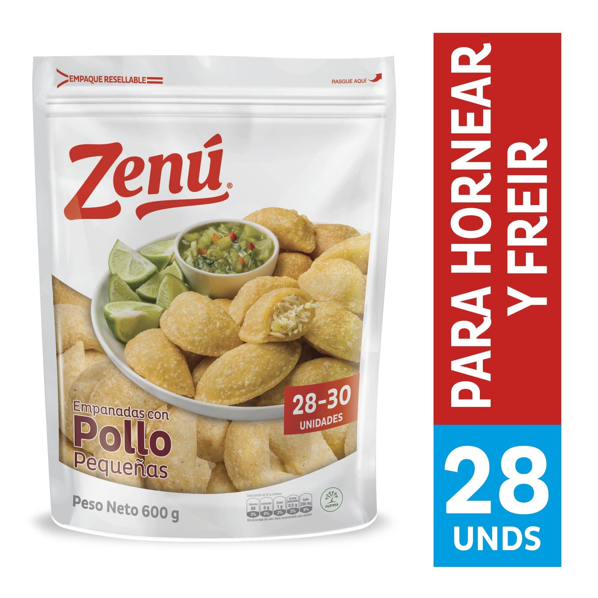 Empanada Zenu Pollo 600g