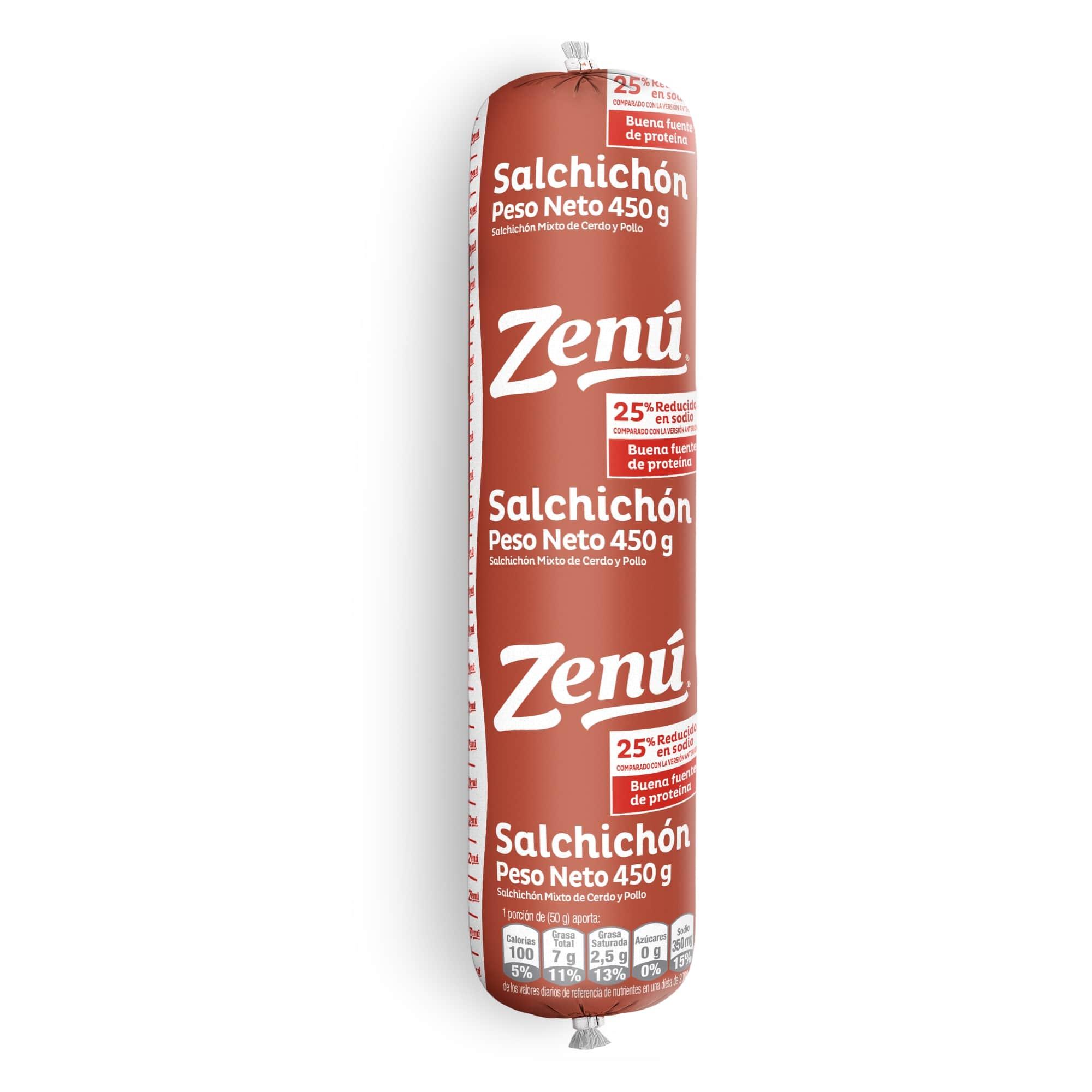 Salchichón Tradicional Zenu 450g