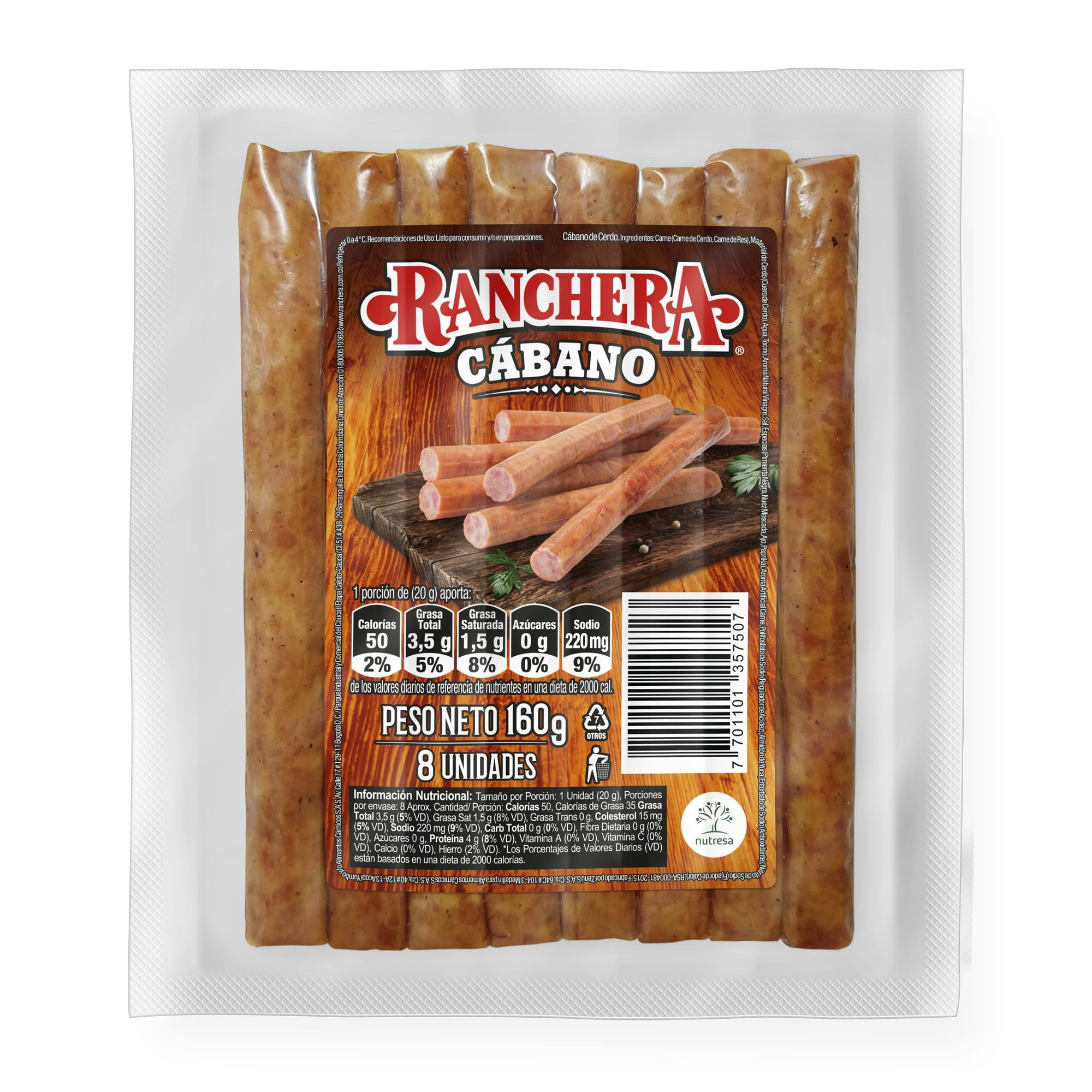 Cabano Ranchera 160g